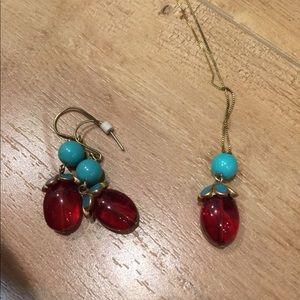 Jewelry - Earrings and pendant bundle